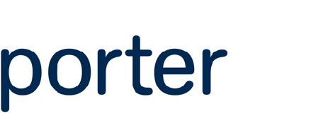 Logo of Porter Airlines
