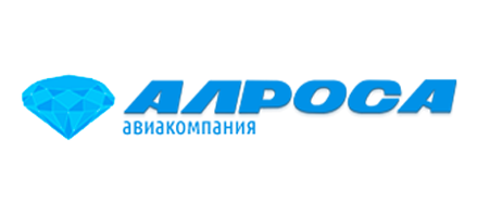 Logo of Alrosa Aviakompania