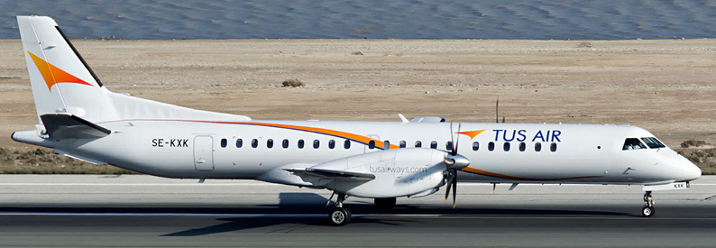 Tus Airways Saab 2000