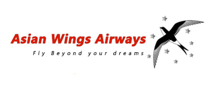 Logo of Asian Wings Airways