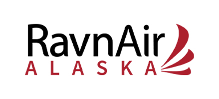 Logo of RavnAir Alaska