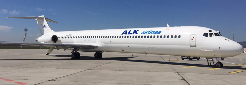 ALK Airlines McDonnell Douglas MD-82