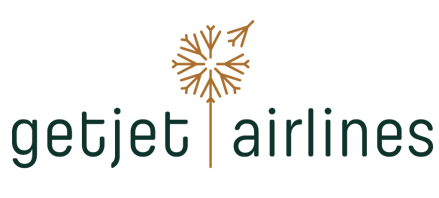 Logo of GetJet Airlines