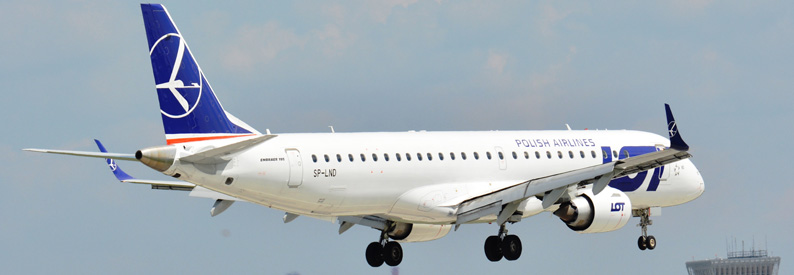 LOT Polish Airlines Embraer 190-200