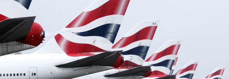 Fleet of British Airways