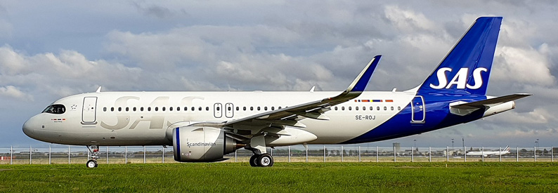 SAS Scandinavian Airlines Airbus A320-200neo
