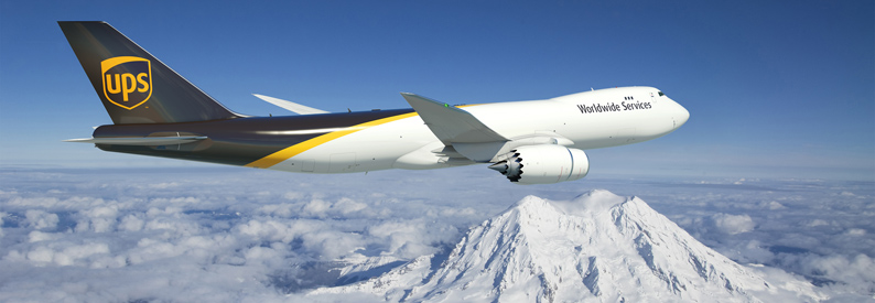 Illustration of UPS Airlines Boeing 747-8F