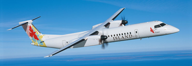 Illustration of Island Air Bombardier DHC-8-Q400