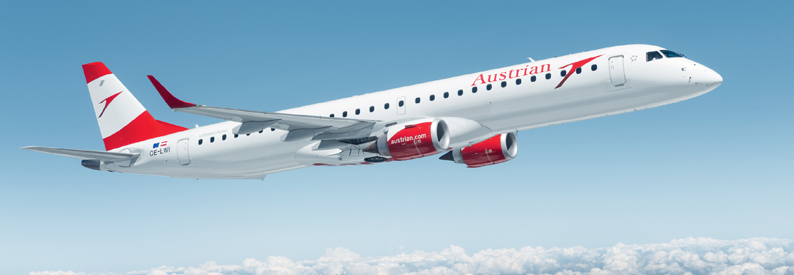 Austrian Airlines Embraer 190-200