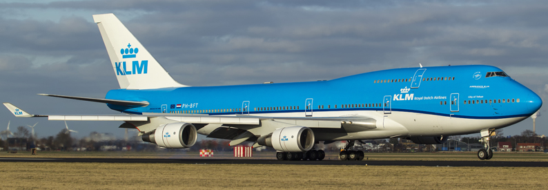 KLM Royal Dutch Airlines Boeing 747-400