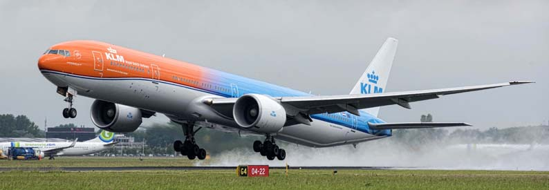 KLM Royal Dutch Airlines Boeing 777-300ER
