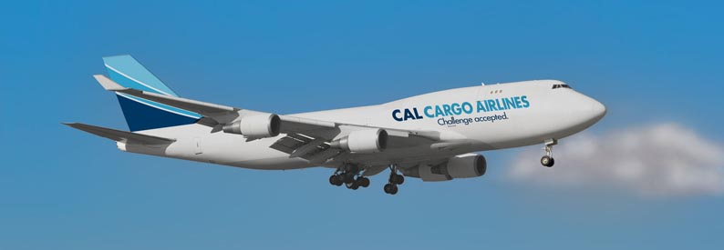 Illustration of CAL Cargo Air Lines Boeing 747-400F