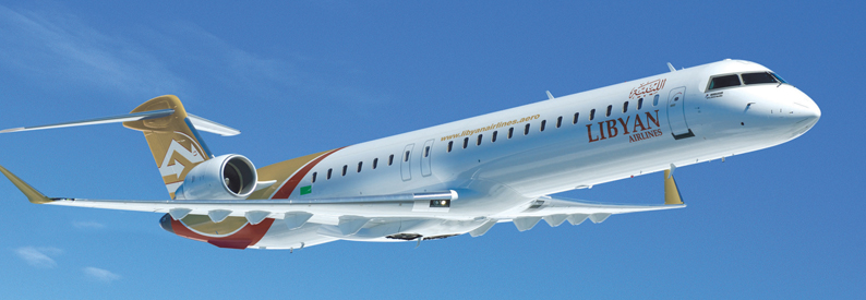 Libyan Airlines Bombardier CRJ900