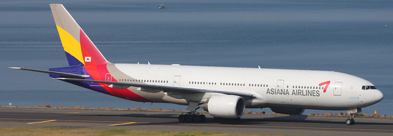 Asiana Airlines Boeing 777-200ER