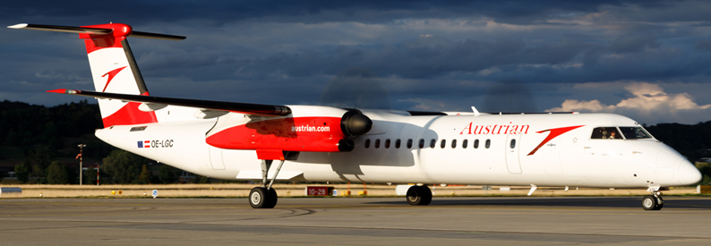 Austrian Airlines Bombardier DHC-8-400