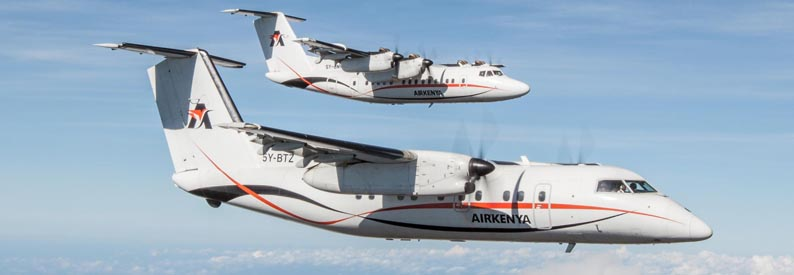 Airkenya Bombardier DHC-7-100 & DHC-8-100
