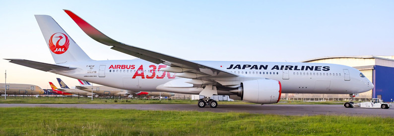 JAL - Japan Airlines Airbus A350-900