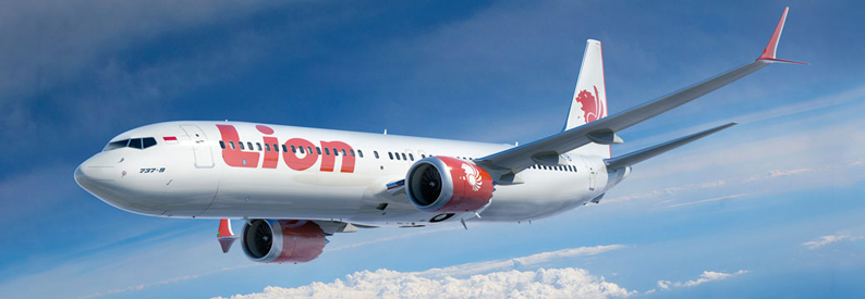 Illustration of Lion Air Boeing 737-MAX-9