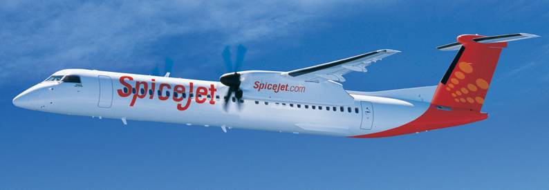 SpiceJet Bombardier DHC-8-400