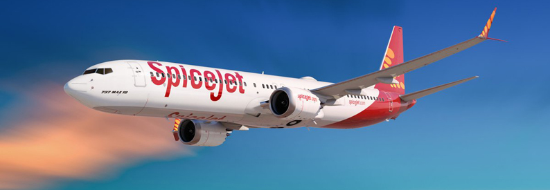 Illustration of SpiceJet Boeing 737-MAX-10