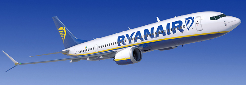 Illustration of Ryanair Boeing 737-8-200