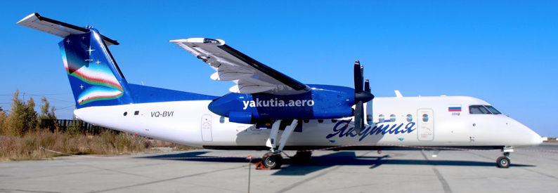 Yakutia Airlines Bombardier DHC-8-300