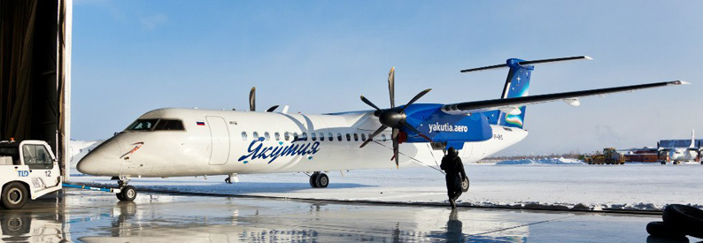 Yakutia Airlines Bombardier DHC-8-400