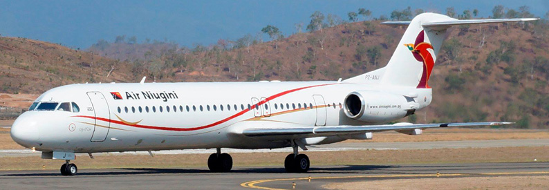 Air Niugini Fokker 100