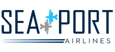 Logo of SeaPort Airlines