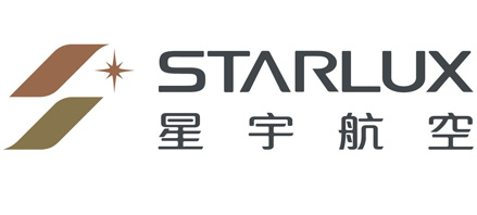 Logo of Starlux Airlines