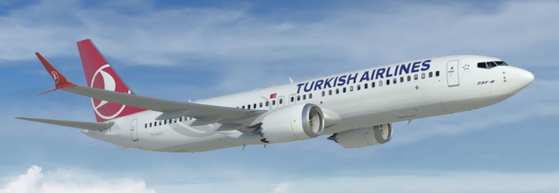Illustration of Turkish Airlines 737 MAX-8