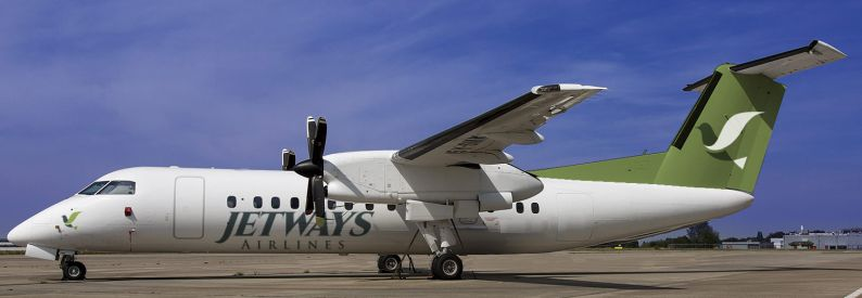 Jetways Airlines Bombardier DHC-8-300