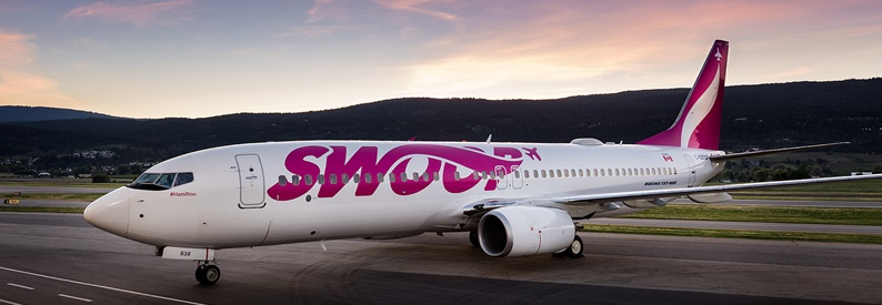 Illustration of Swoop Boeing 737-800