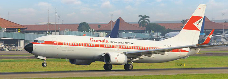 Garuda Indonesia Boeing 737-800 (historic livery)
