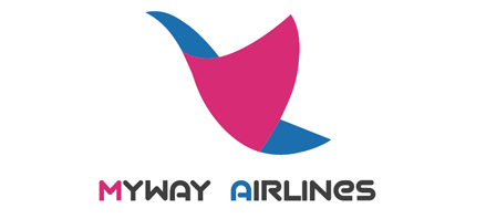 Logo of MyWay Airlines