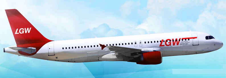 Illustration of LGW Airbus A320-200