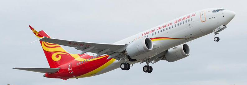 Hainan Airlines Boeing 737 MAX 8