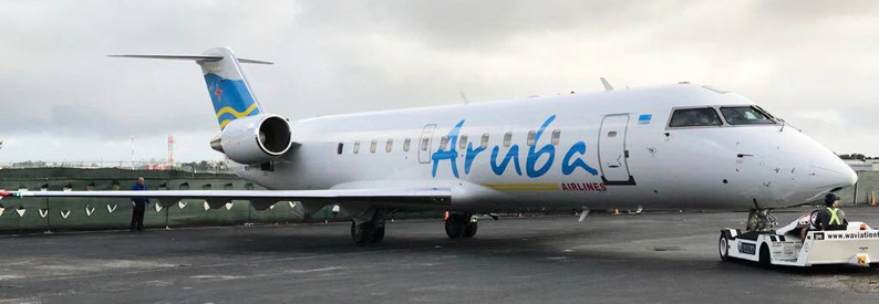 Aruba Airlines adds first CRJ-200 - ch-aviation