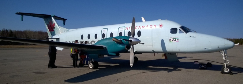 Exploits Valley Air Services Beech 1900D