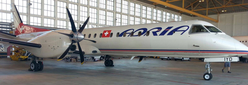 Darwin (Adria Airways Switzerland) Saab 2000