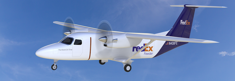 Illustration of FedEx Cessna 408F SkyCourier