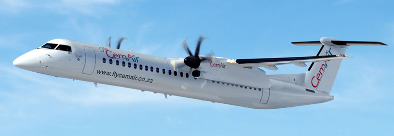 Illustration of CemAir Bombardier DHC-8-400
