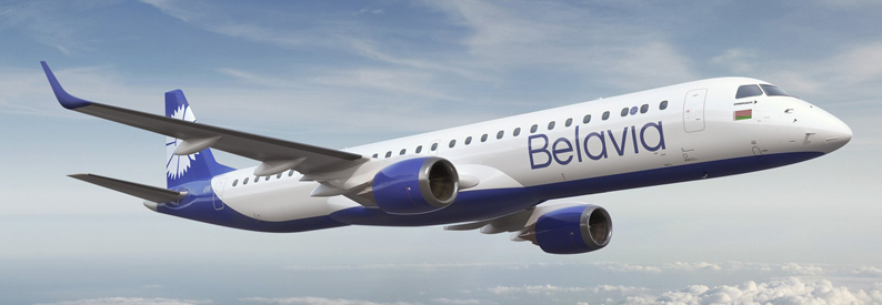 Illustration of Belavia Embraer 190-200