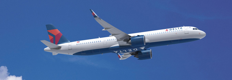 Illustration of Delta Air Lines Airbus A321-200neo