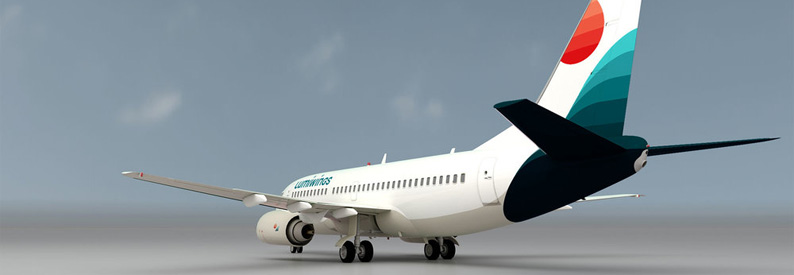 Illustration of Lumiwings Boeing 737-300