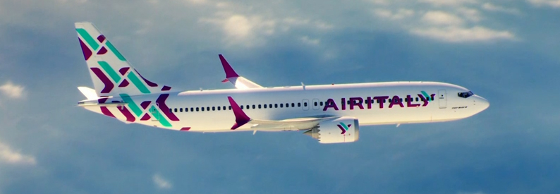 Illustration of Air Italy Boeing 737-8