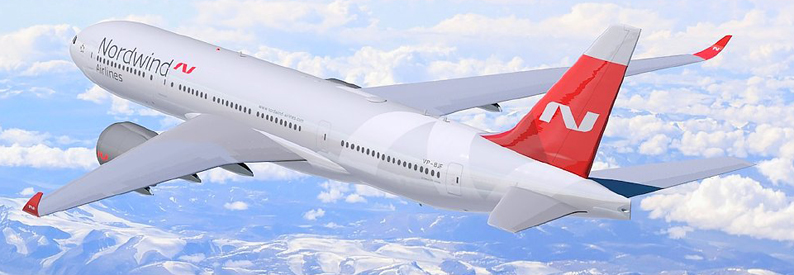 Illustration of Nordwind Airlines Boeing 777-200