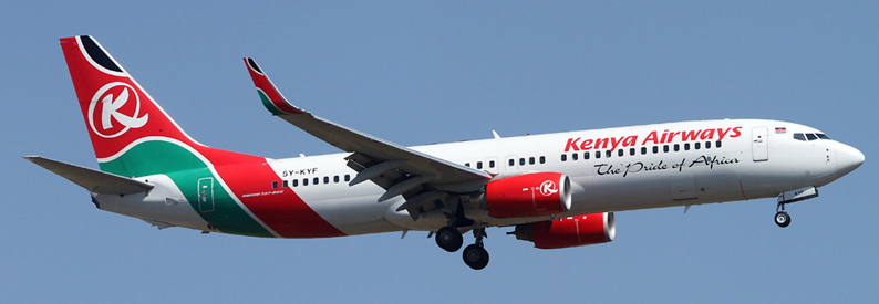 Kenya Airways Boeing 737-800