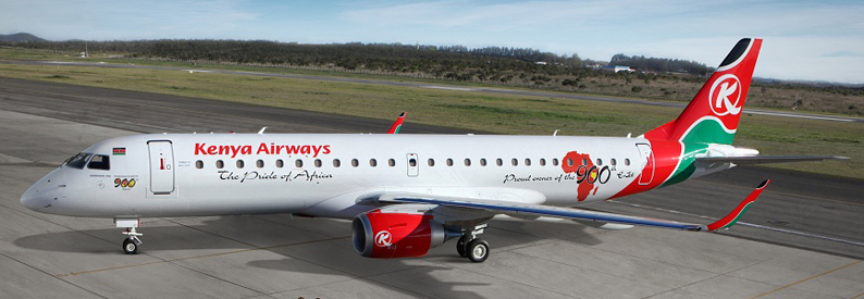 Kenya Airways Embraer 190-100