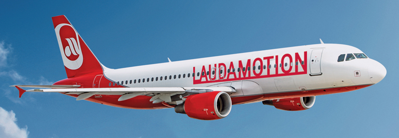 Illustration of LaudaMotion Airbus A320-200